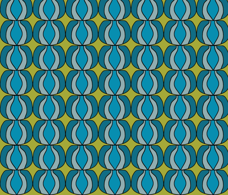 I LuvOlive2 fabric by sbd on Spoonflower - custom fabric