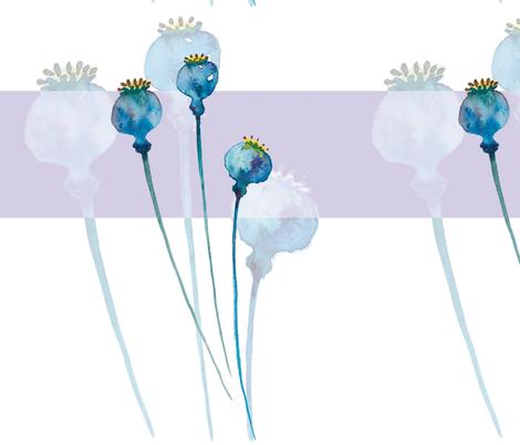 Poppy Seeds fabric by evamarion on Spoonflower - custom fabric