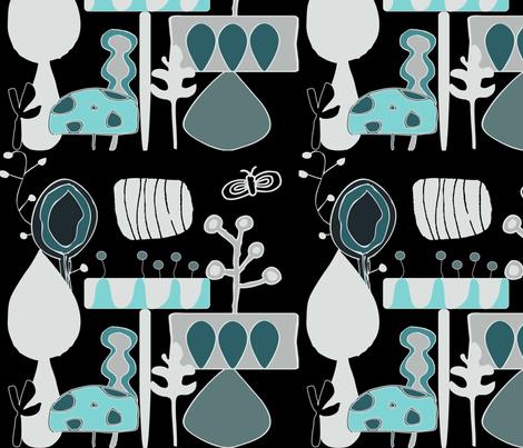 Flower Garden fabric by sbd on Spoonflower - custom fabric