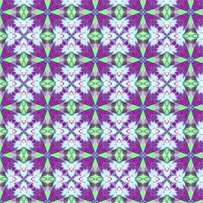 Mint & purple tiles