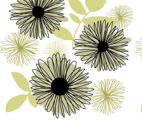 sunshine fabric by emilyb123 on Spoonflower - custom fabric