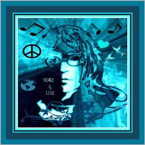 "18"" PEACE & LOVE"