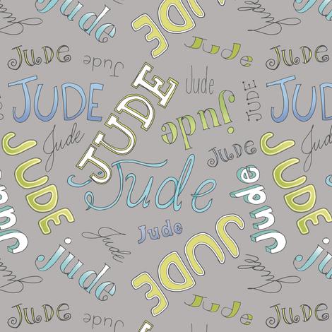 JUDE - gray fabric by pattysloniger on Spoonflower - custom fabric