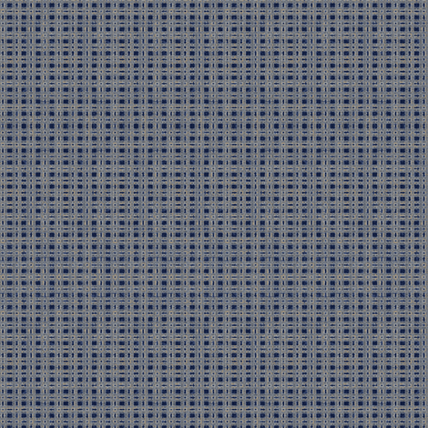 China Blue Check fabric by kristopherk on Spoonflower - custom fabric