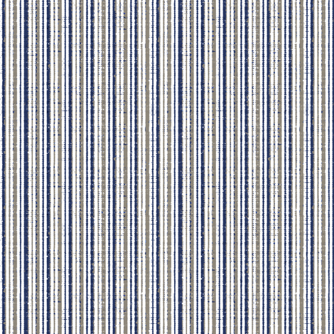 China Blue Seaside fabric by kristopherk on Spoonflower - custom fabric