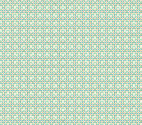 sweet little circle flowers fabric by babysisterrae on Spoonflower - custom fabric