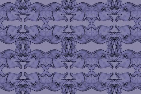 Purple Elephants fabric by artbybaha on Spoonflower - custom fabric