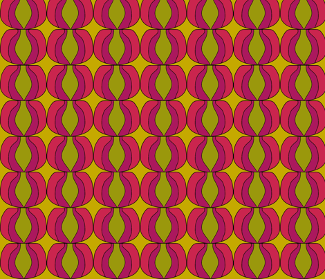 ILuvOlive Pink fabric by sbd on Spoonflower - custom fabric