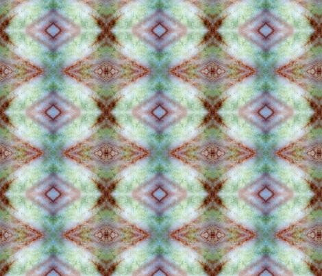 Green Glow aztec rad plaid fabric by jan4insight on Spoonflower - custom fabric