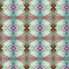 Green Glow aztec rad plaid