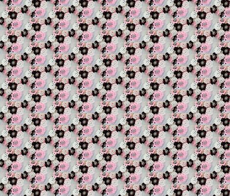 Ballet School Flowers fabric by jan4insight on Spoonflower - custom fabric