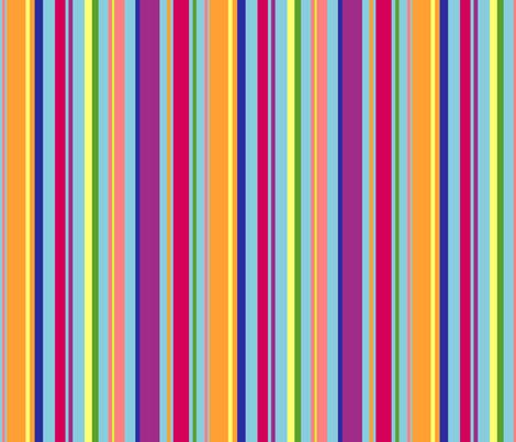 stripey fabric by rose'n'thorn on Spoonflower - custom fabric