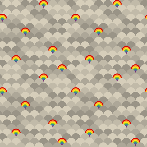 Rainy Day fabric by beeskneesindustries on Spoonflower - custom fabric