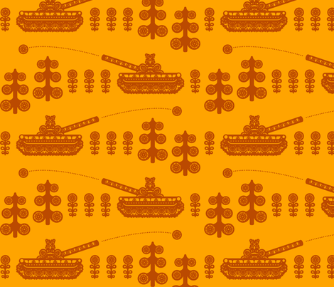 puskantakaa_o fabric by ruusulampi on Spoonflower - custom fabric
