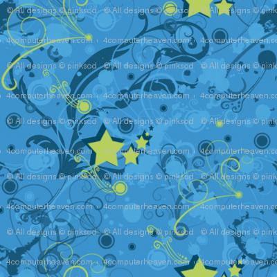 Superstar Swirls - © PinkSodaPop 4ComputerHeaven.com