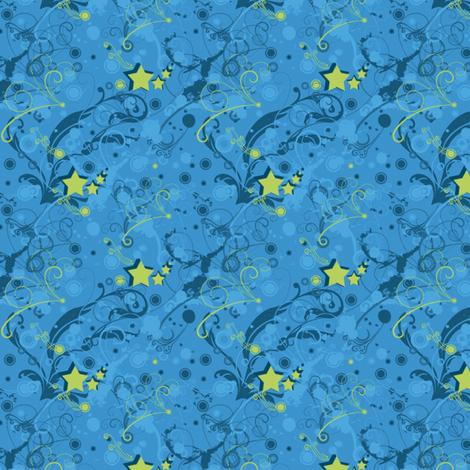 Superstar Swirls - © PinkSodaPop 4ComputerHeaven.com fabric by pinksodapop on Spoonflower - custom fabric