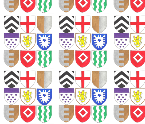 Heraldry-1 fabric by not-enough-time on Spoonflower - custom fabric
