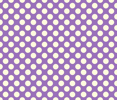 Grape Soda dot fabric by bellamarie on Spoonflower - custom fabric