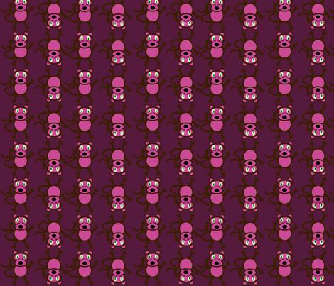 Crazy Monkeys fabric by lyndsey2360 on Spoonflower - custom fabric