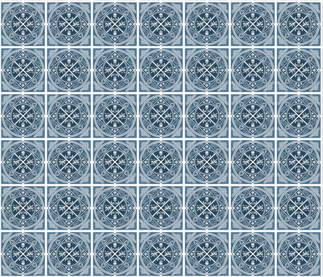 Medieval_Scotland fabric by eclectic_mermaid on Spoonflower - custom fabric