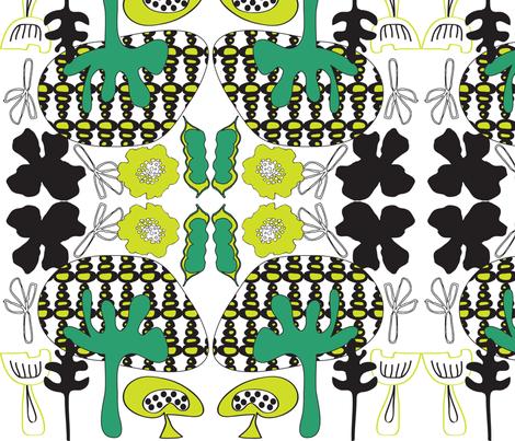 mushroomforest fabric by sbd on Spoonflower - custom fabric