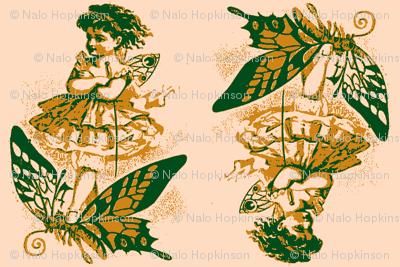 Bidirectional Butterfly Girl