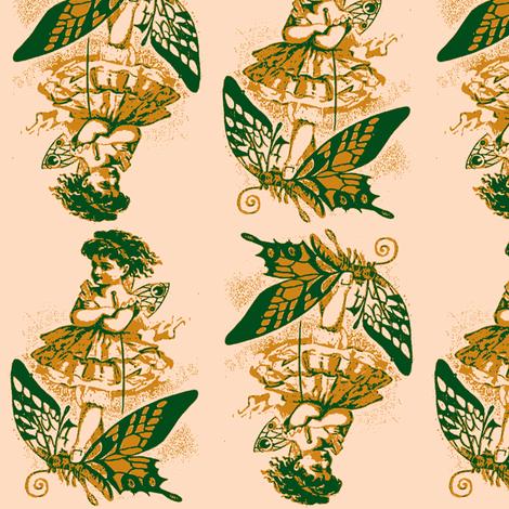 Bidirectional Butterfly Girl fabric by nalo_hopkinson on Spoonflower - custom fabric
