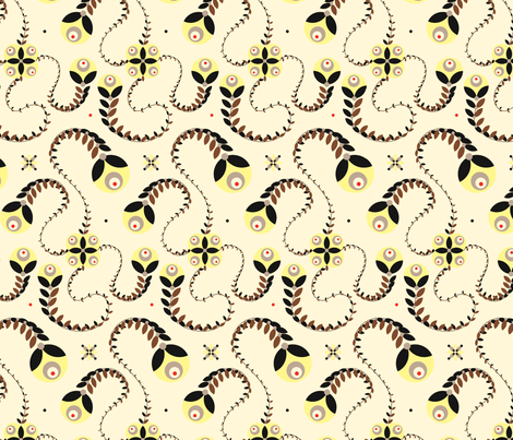 50s-ed fabric by vina on Spoonflower - custom fabric