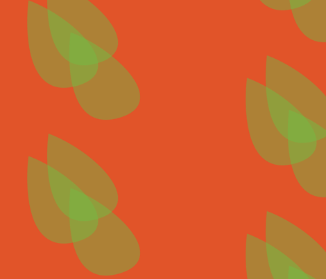 Leaves_fall1 fabric by dolphinandcondor on Spoonflower - custom fabric