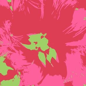 3 color macro flower