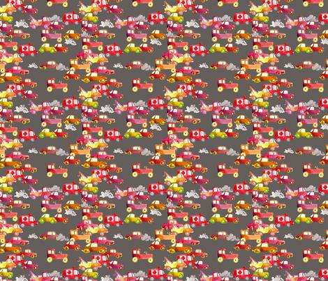 circulation gris M fabric by nadja_petremand on Spoonflower - custom fabric