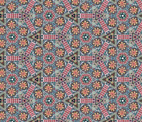 Joker Tile III fabric by captiveinflorida on Spoonflower - custom fabric