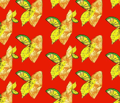 Vitamin C blast fabric by nalo_hopkinson on Spoonflower - custom fabric