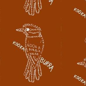 Kookaburra Calligram