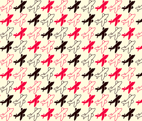 planefabric fabric by beth_d_ on Spoonflower - custom fabric