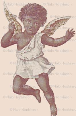 Angel Baby Fabric Nalo Hopkinson Spoonflower