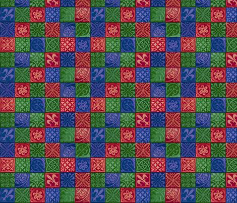 medeival_squares2 fabric by designer41 on Spoonflower - custom fabric