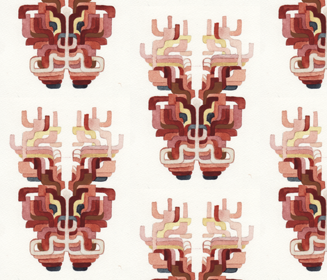 Deer fabric by loren_leahy on Spoonflower - custom fabric