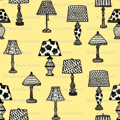 Antique Shop - Lamps