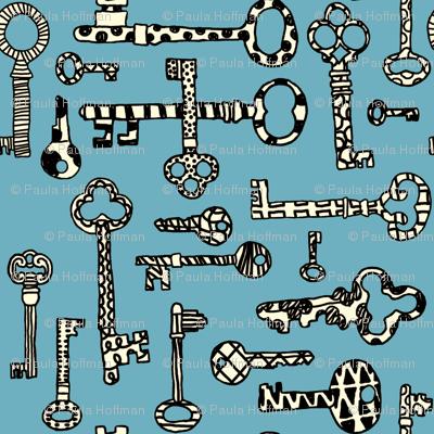 Antique Shop - Skeleton Keys
