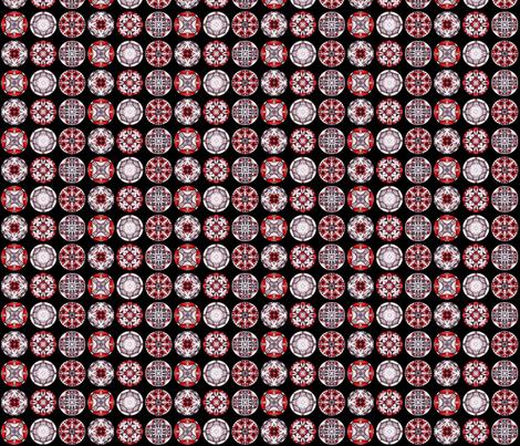 Sangres Disks fabric by siya on Spoonflower - custom fabric