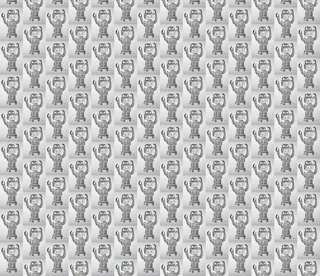 myrobot-ed-ed fabric by pigglewiggins on Spoonflower - custom fabric