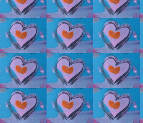 myheartart fabric by pigglewiggins on Spoonflower - custom fabric