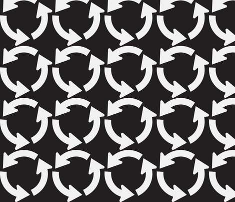 Around and around fabric by blue_jacaranda on Spoonflower - custom fabric