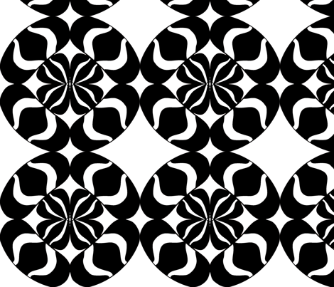 Designers Row fabric by sbd on Spoonflower - custom fabric