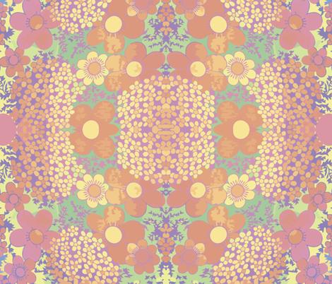 sunrise_bloom2 fabric by snork on Spoonflower - custom fabric