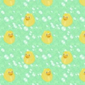 Rubber Duckies - Green