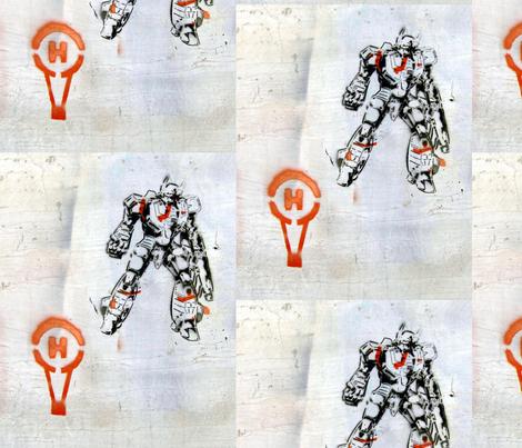 helium_man fabric by remnantz on Spoonflower - custom fabric