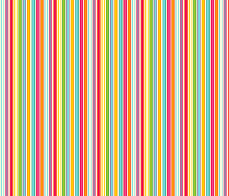 Bright Stripe! fabric by spellstone on Spoonflower - custom fabric