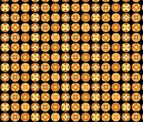 Hia's Disks fabric by siya on Spoonflower - custom fabric